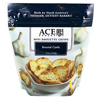 Ace Bakery Mini Baguette Crisps Roasted Garlic, 5.30 oz