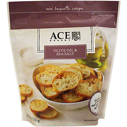 Ace Bakery Mini Crisps Sea Salt & Olive Oil, 5.30 oz
