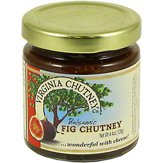 The Virginia Chutney Company Balsmic Fig Chutney,4.4 OZ