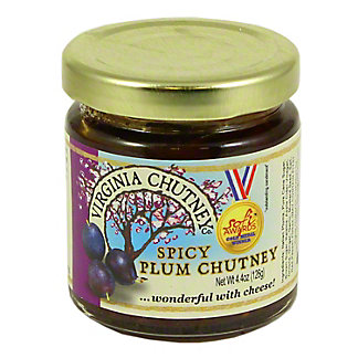 The Virginia Chutney Company Spicy Plum Chutney,4.4 OZ