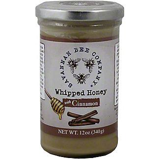Savannah Bee Company Cinnamon Whipped Honey,12OZ