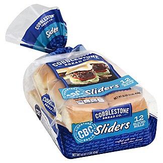 Cobblestone Bread Co. Sliders,12 CT