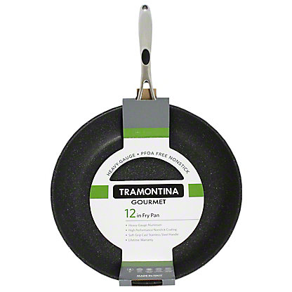 Tramontina 10 Inch Black Stone Fry Pan, 1EA