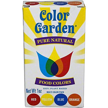 Color Garden Food Color 4 PK,1 OZ