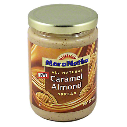MaraNatha Caramel Almond Spread, 12.00 oz
