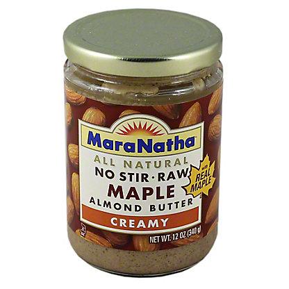 MaraNatha Maple Almond Butter Creamy,12 oz