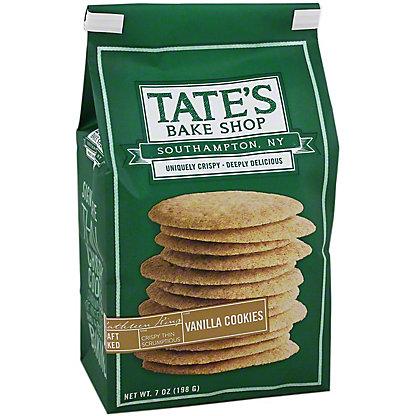 Tates Bake Shop Vanilla Cookies,7.00 oz