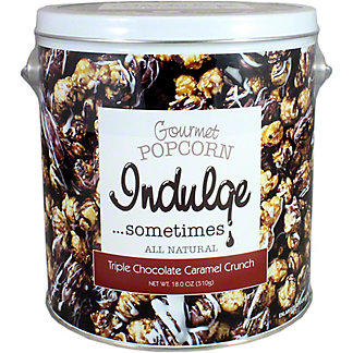 Indulge Popcorn Triple Chocolate, 18 OZ
