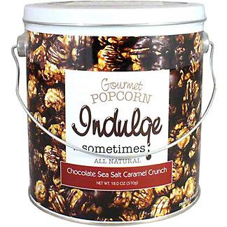 Indulge Popcorn Chocolate, 18 OZ