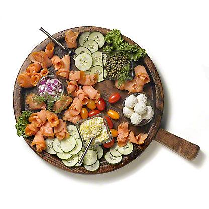 Smoked Salmon Platter, Serves 10-15