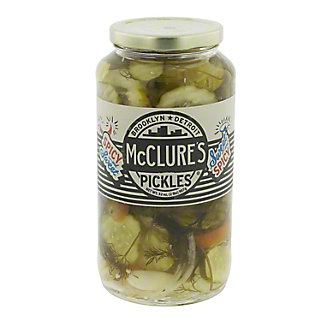 McClure's Sweet & Spicy Pickles, 32 oz