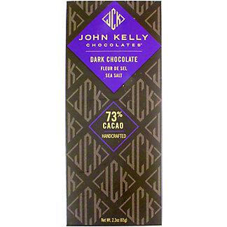 John Kelly Chocolates Dark Chocolate Sea Salt Bar, 2.3 OZ