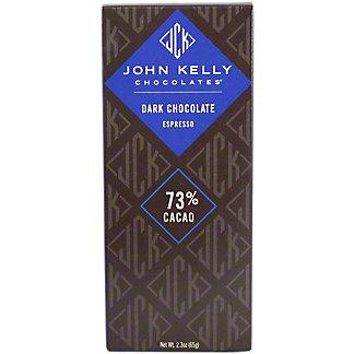 John Kelly Dark Chocolate Espresso Bar,2.3OZ