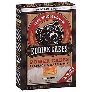 Kodiak Cakes Power Cakes Whole Grain Buttermilk, 20 oz