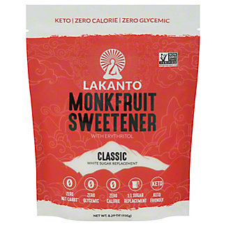Lakanto Monkfruit Sweetener, 8.29 oz