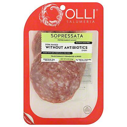 Olli Salumeria Sopressata Sliced,4 OZ