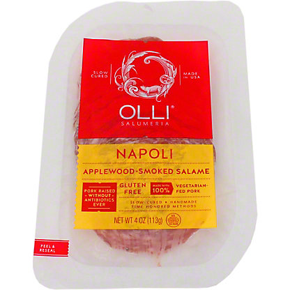 Olli Salumeria Napoli Sliced,4 OZ