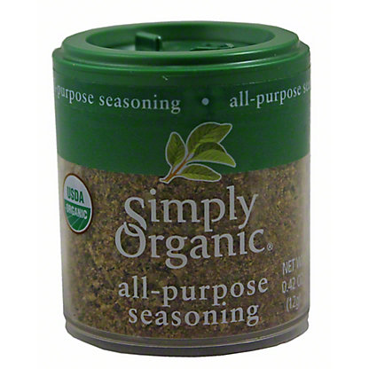 Simply Organic All Purpose Seasoning, 0.42 oz