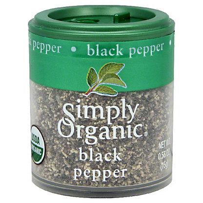 Simply Organic Mini Black Pepper, 0.56 oz