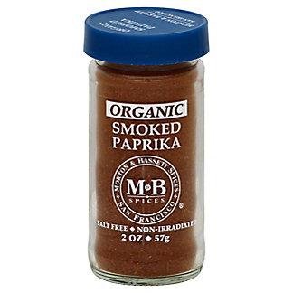 Morton & Bassett Organic Smoked Paprika, 2 oz