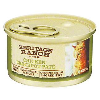 H-E-B Heritage Ranch Chicken Crockpot Cat Food, 3 oz