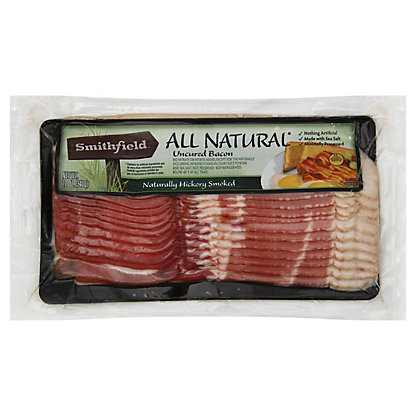 Smithfield All Natural Uncured Bacon,12 OZ