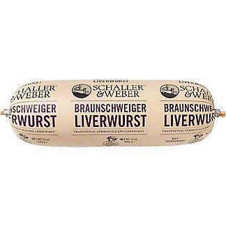 Schaller & Weber Braunschweiger Liverwurst,12 OZ