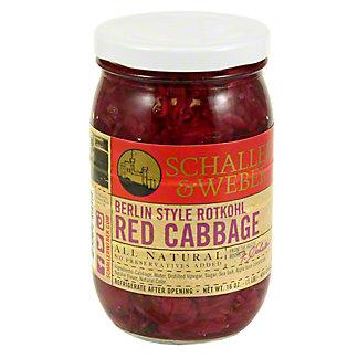Schaller & Weber Rothkohl Red Cabbage,16 OZ