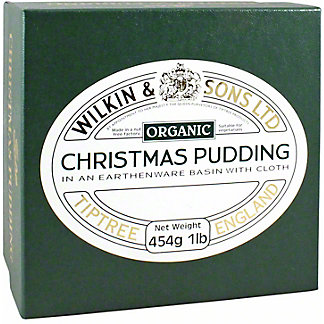 Tiptree Tiptree Organic Christmas Plum Pudding, 16 OZ