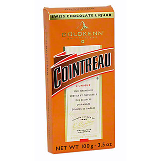 GOLDKENN Milk Chocolate Cointreau Liqueur Bar,3.53Z