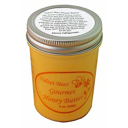 Velvet Bees Gourmet Honey Butter,8 OZ