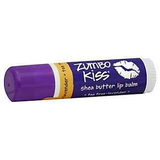 Indigo Wild Zumbo Kiss Shea Butter Lip Balm Tea Tree Lavender, 0.5 oz