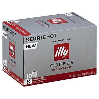 Illy Medium Roast Single Serve Coffee K Cups, 10 ct
