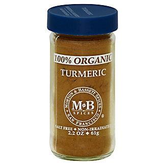 Morton & Bassett Organic Turmeric, 2.2 oz