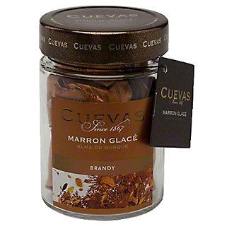 Cuevas Marron Glace In Brandy, 5.62 oz
