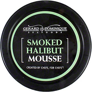 Gerard and Dominique Seafoods Smoked Halibut Mousse, 6 oz