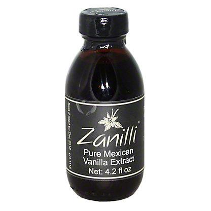 Zanilli Pure Mexican Vanilla Extract, 4.2 OZ