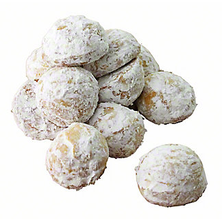 CENTRAL MARKET Lemon Snowball Cookies 12CT,8 OZ