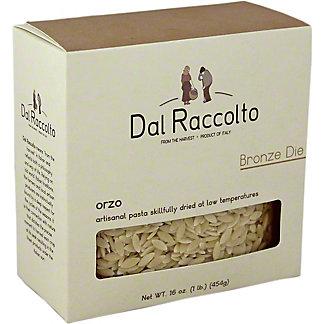 Dal Raccolto Orzo Pasta Bronze Die,16 OZ