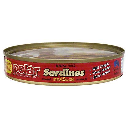 Polar Brisling Sardines In Oil, 4.23oz