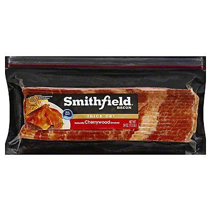 Smithfield Cherrywood Bacon Thick Cut,24 oz
