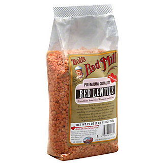 Bobs Red Mill Heritage Beans Red Lentils, 27 oz