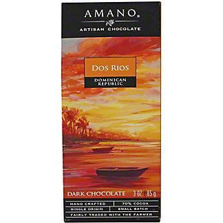 Amano Dos Rios 70%, 3 oz