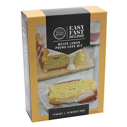 Just in Time Gourmet Lemon Meyer Pound Cake Mix, 19.88 oz