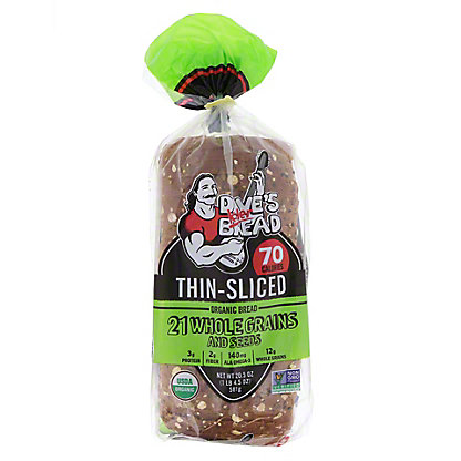 Daves Killer Bread Thin Sliced 21 Whole Grain and Seed,20.50 oz