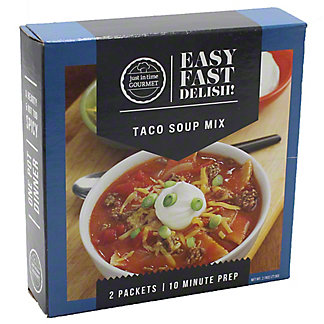 Just in Time Gourmet Gourmet Taco Soup Mix, 2 ct