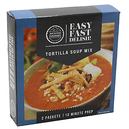 Just in Time Gourmet Tortilla Soup Mix, 2 ct