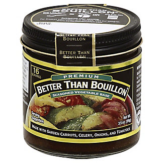 Better Than Bouillon Vegetable Bouillan,3.50 oz
