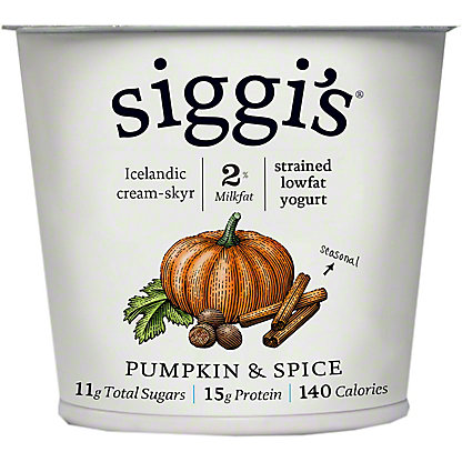 Siggis 2% Seasonal Assortment, 5.3 oz