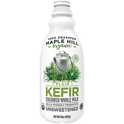 Maple Hill Creamery Organic Grassfed Plain Kefir, 32 oz